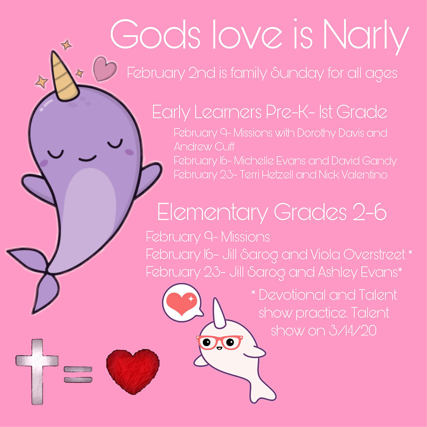 God's Love is Narly