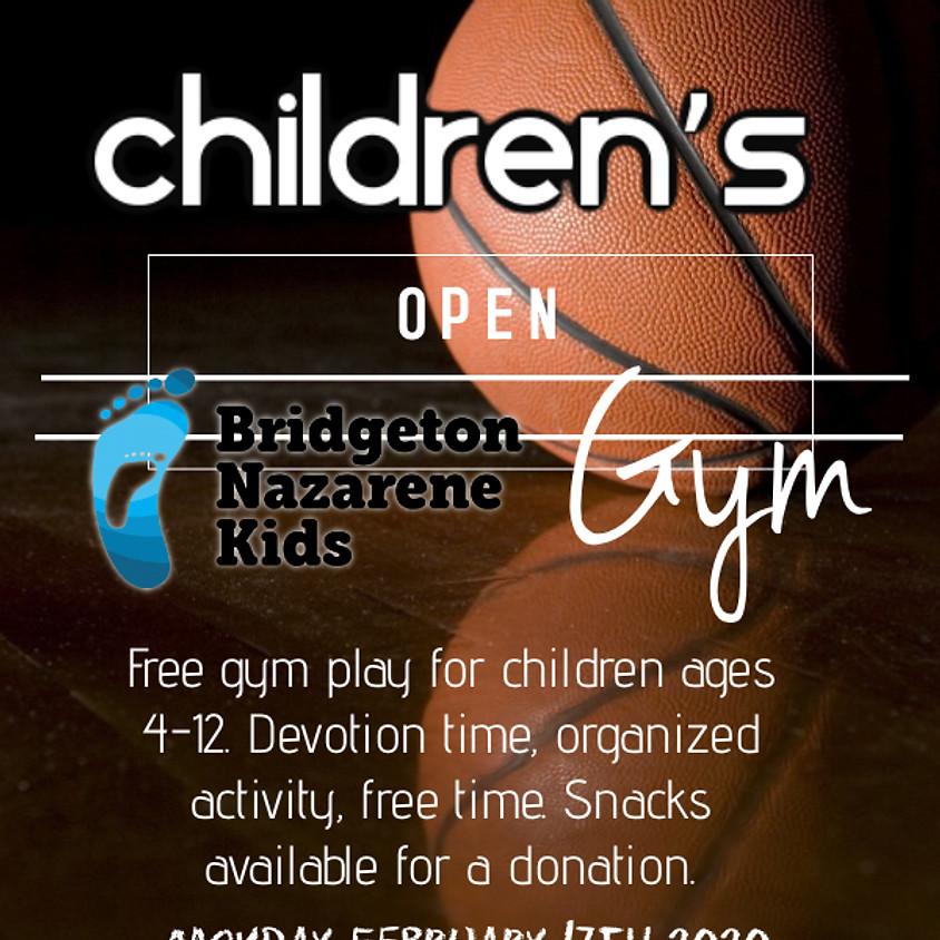 Children's Open Gym Afternoon