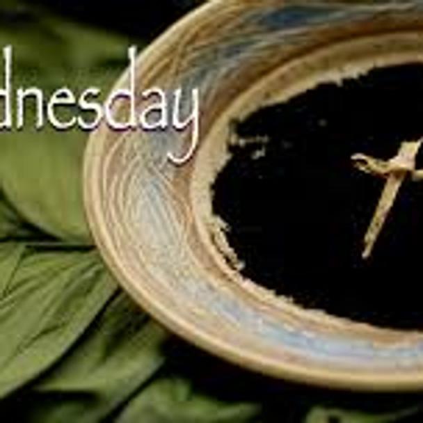 Ash Wednesday Holy Communion