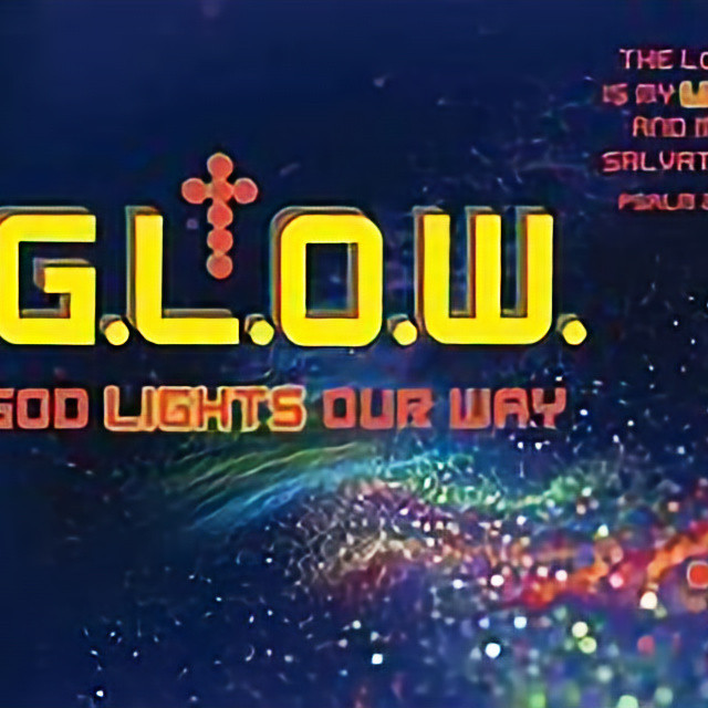 G.L.O.W. Party FOR  AGES 4-12. Wear white or neon colors because we are going to...