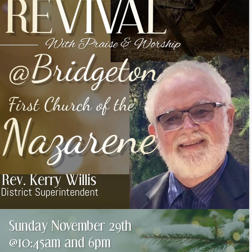 Revival with Pastor Kerry Willis