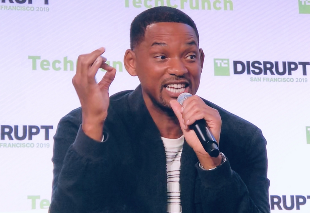 Will Smith at TC Disrupt. Credit: Dave Schools