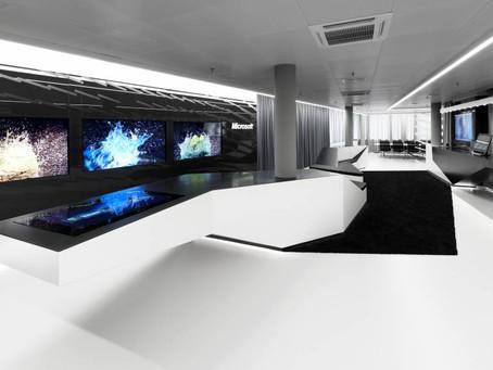 HI-MACS® used in interactive showroom