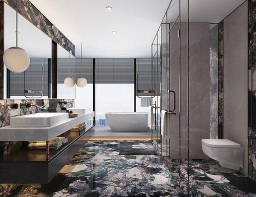 Four Seasons GANI Marble Tiles - Setting