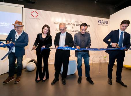 The Grand Launch |  GANI Singapore Showroom.