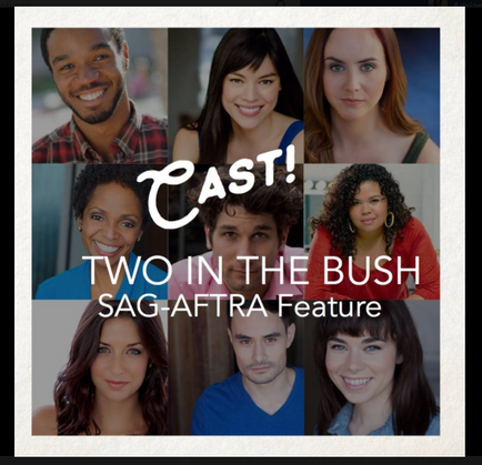 "Adriana books feature film ""Two In The Bush"" to shoot in Chicago in May"