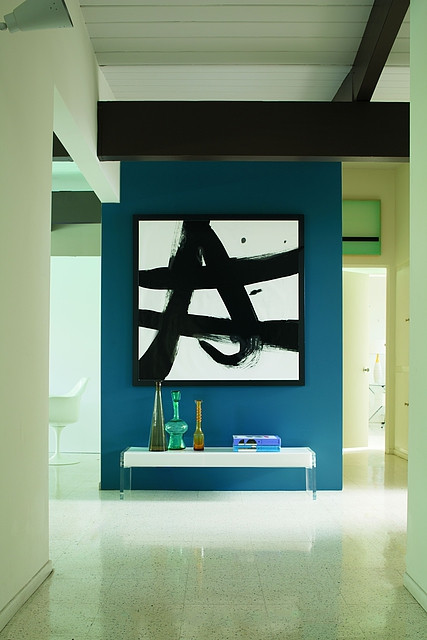 Gallery wall inspiration from Benjamin Moore