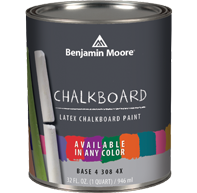 Benjamin Moore Chalkboard paint in ANY color!