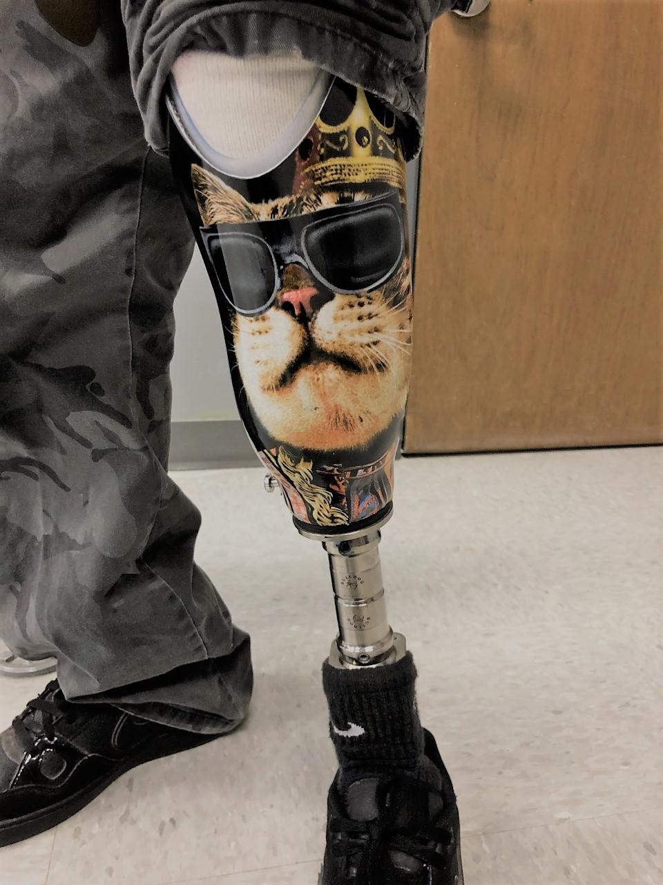Cool Cat Leg