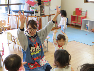 1歳児ちゅーりっぷ組~リトミック~