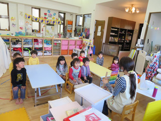 2歳児すみれ組~知育~