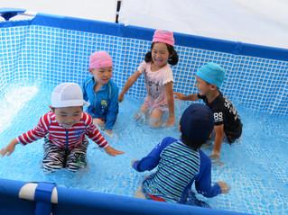 プール開き・4歳児