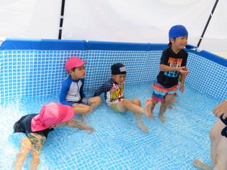 プール開き・5歳児