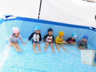 プール開き・3歳児