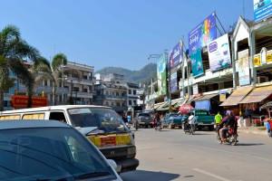 Entering Myanmar