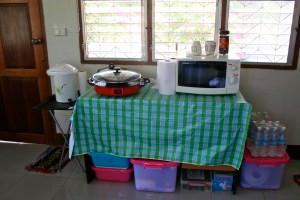 Gourmet kitchen?