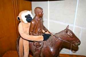 Linkee on horse