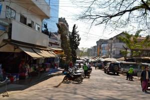 Street scene in Tachileik.