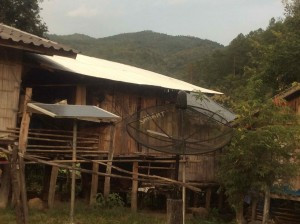 They manage with solar panels and do have satellite dishes.