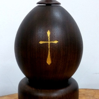a Lord's Prayer Tabletop prayer wheel