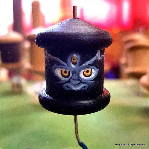 Mahakala mantra prayer wheel pendant