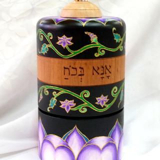 an Ana Bekoach prayer wheel