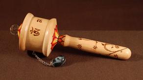 medium size Mani prayer wheel
