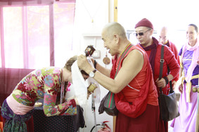 Rinpoche has arrived!