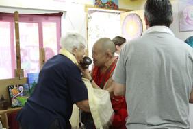 Rinpoche & my mom