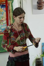 Ayelet getting ready