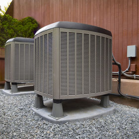 HVAC heating and air conditioning reside