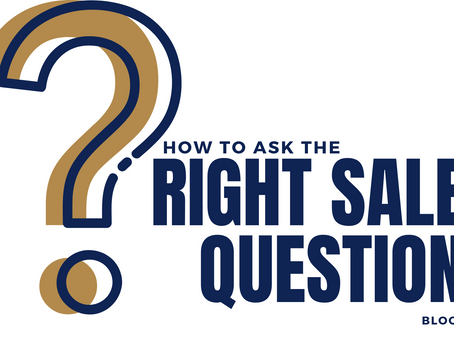 How to ask the right sales questions