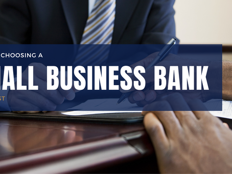 Tips for choosing a small business bank