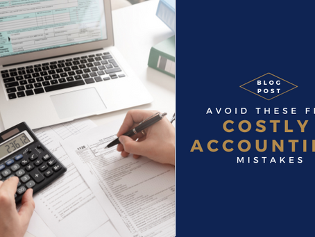 Avoid These 5 Costly Accounting Mistakes