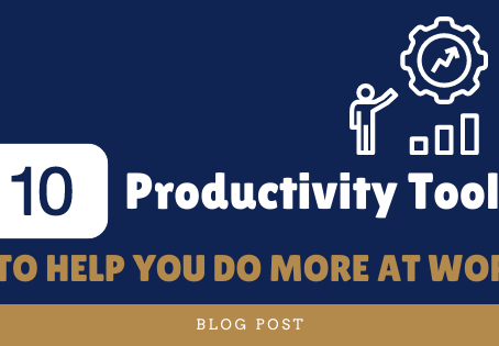 10 Productivity Tools to Help You Do More at Work