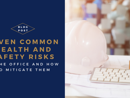 7 Common Health and Safety Risks in the Office and How to Mitigate Them