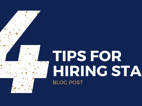 4 tips for hiring staff