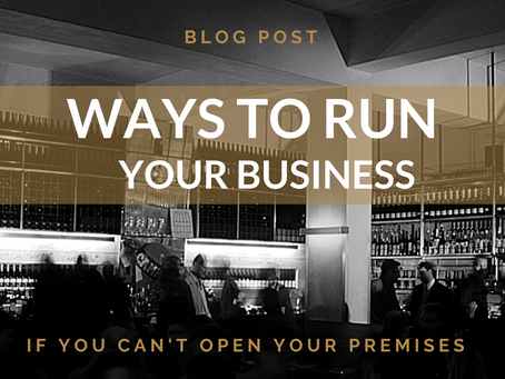 Ways to run your business if you can't open your premises