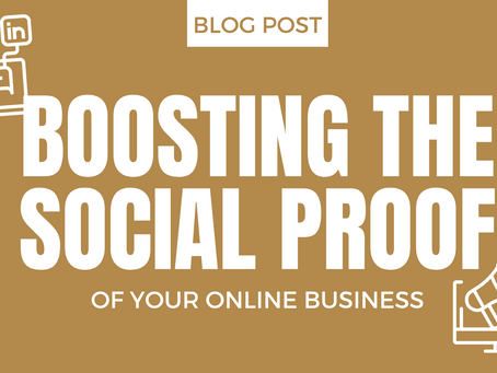 Boosting The Social Proof Of Your Online Business