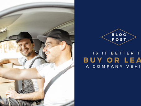 Is it better to buy or lease a company vehicle?