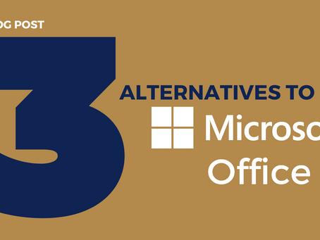 3 Alternatives to Microsoft Office