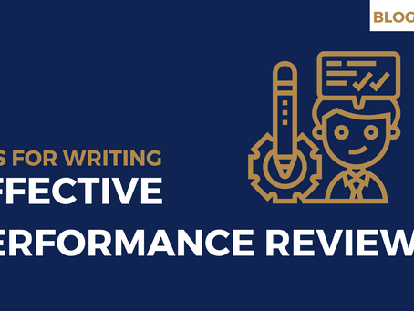 Tips for writing effective performance reviews
