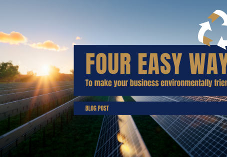 Four easy ways to make your business environmentally friendly