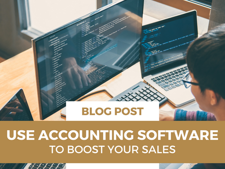 Use Accounting Software to Boost Sales