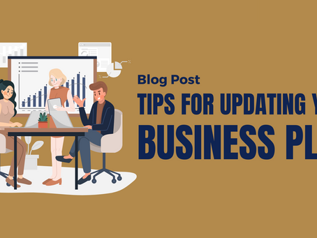 Tips for updating your business plan