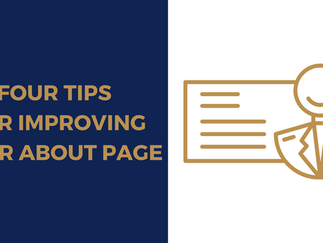 4 Tips for Improving Your About Page