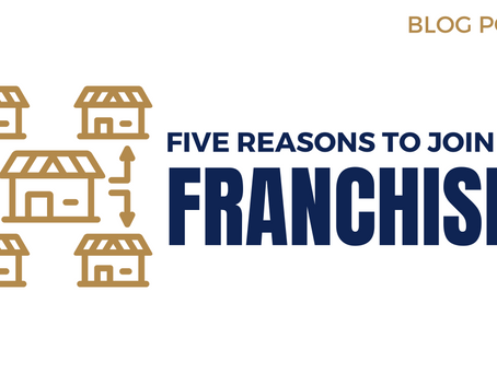 5 reasons to join a franchise