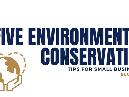 5 Environmental Conservation Tips for Small Businesses
