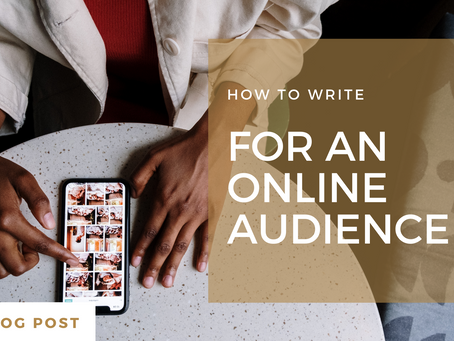 How to write for an online audience