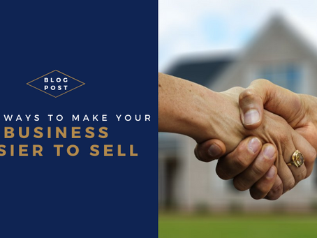 4 ways to make your business easier to sell